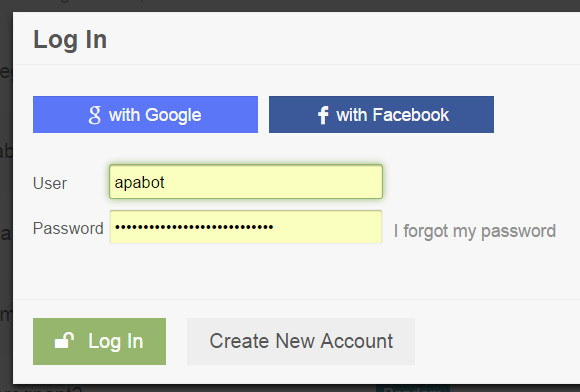 how to set autofill to usernamae and password