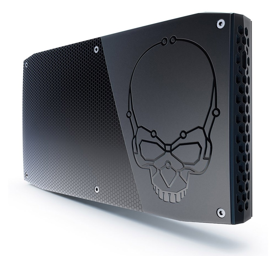 The Golden Age of x86 Gaming - skull canyon nuc case top - The Golden Age of x86 Gaming