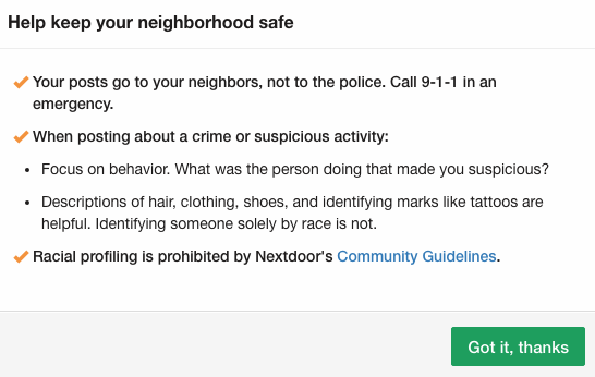 Can Software Make You Less Racist? - nextdoor race 1 - Can Software Make You Less Racist?