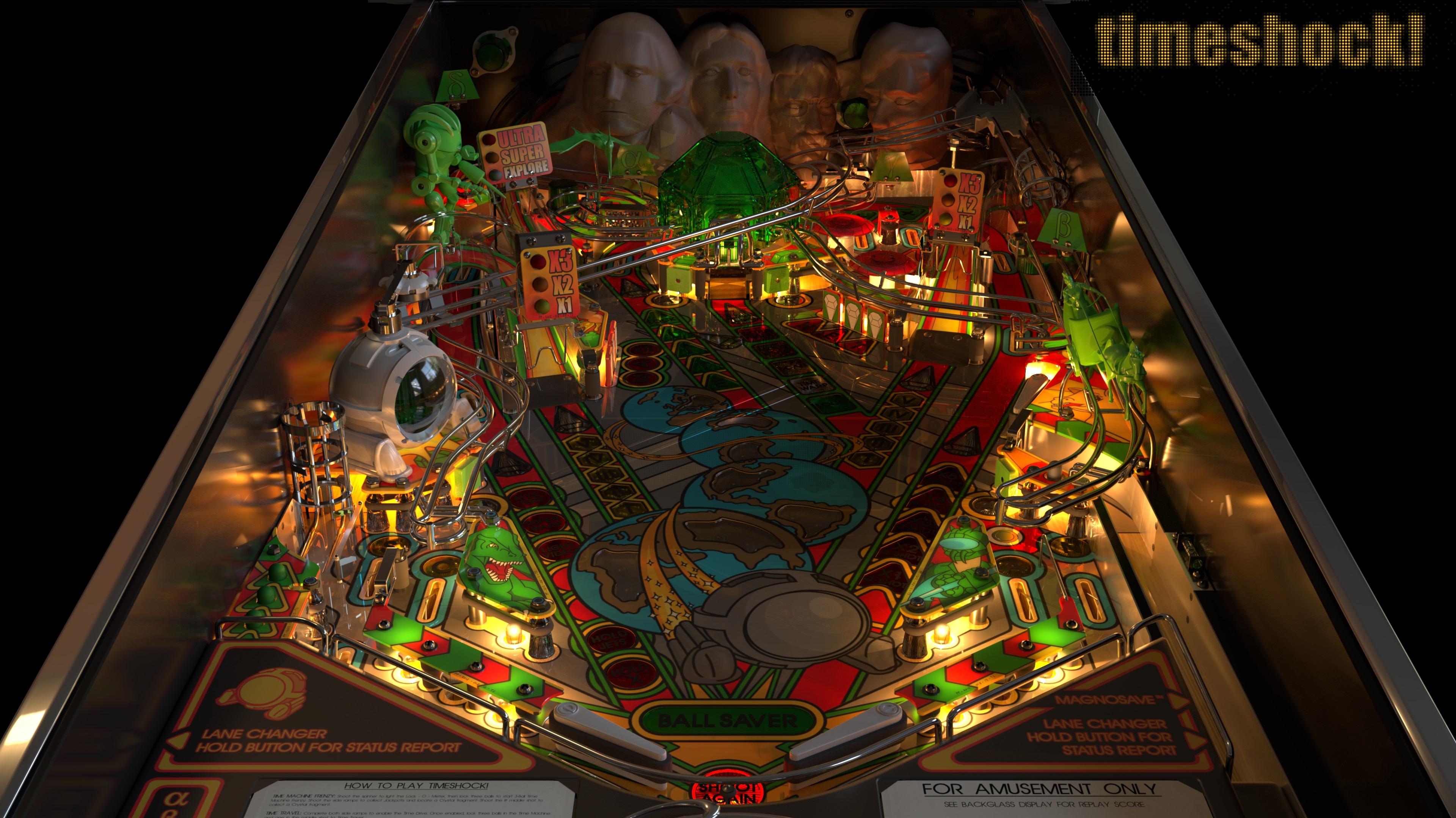 Your Digital Pinball Machine - pro pinball timeshock ultra 4k 1 - Your Digital Pinball Machine