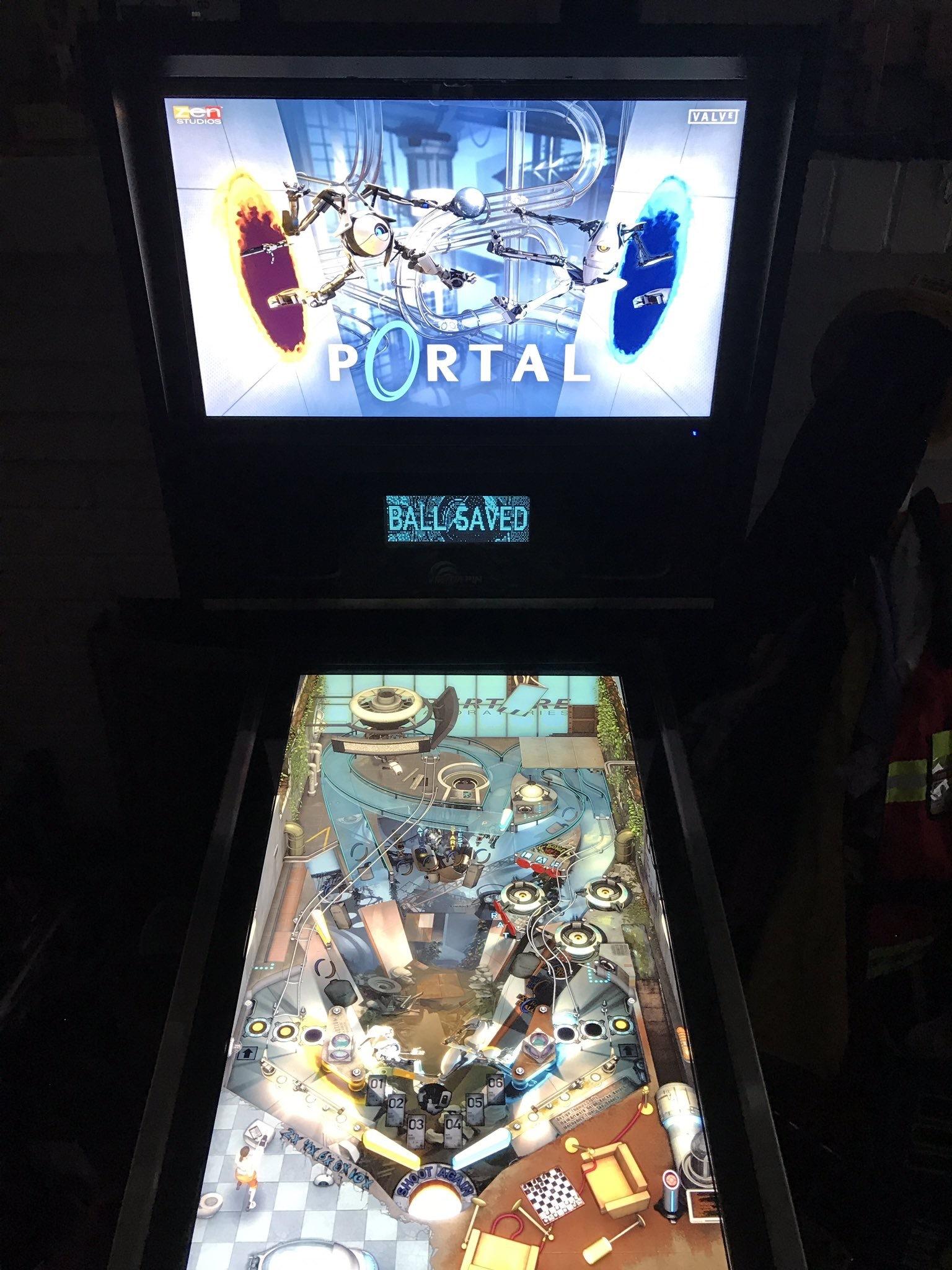 Your Digital Pinball Machine - virtapin mini portal 2 - Your Digital Pinball Machine