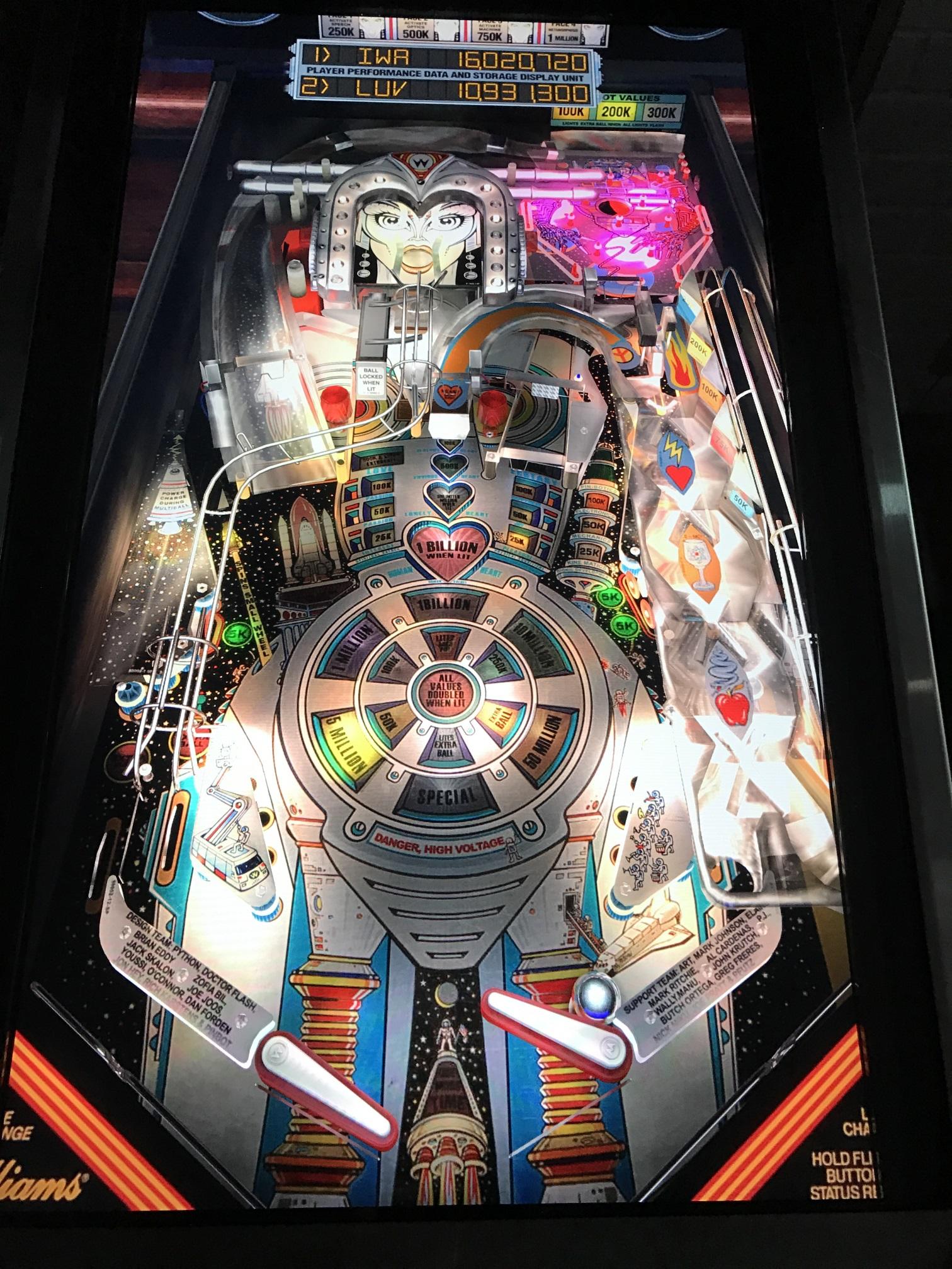 Your Digital Pinball Machine - virtuapin mini playfield - Your Digital Pinball Machine