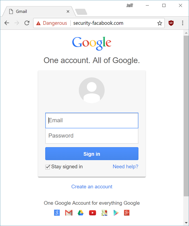 google-login-phishing-page