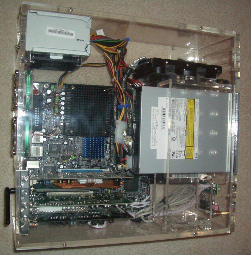 Pentium-M HTPC system