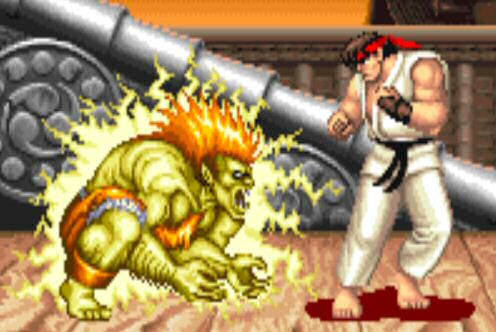 Blanka in Street Fighter II