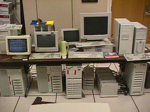 Google Hardware, circa 1999