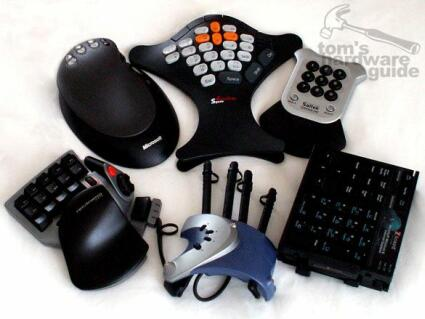 Alternative keyboard input devices