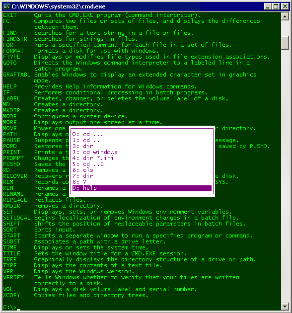 Command Prompt Commands Pdf