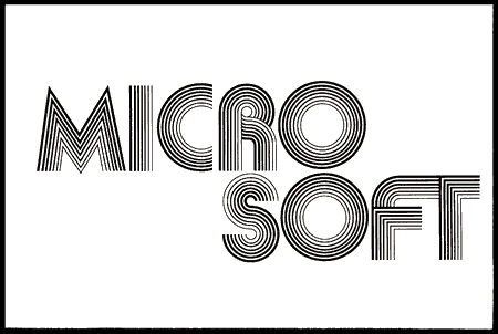 70's era Microsoft logo