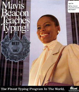 Mavis Beacon Teaches Typing... and the perils of late 80s office fashions.