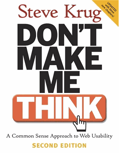 Don't Make Me Think, Second Edition