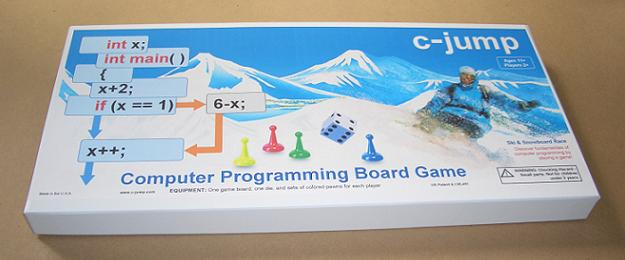 c-jump, the boardgame