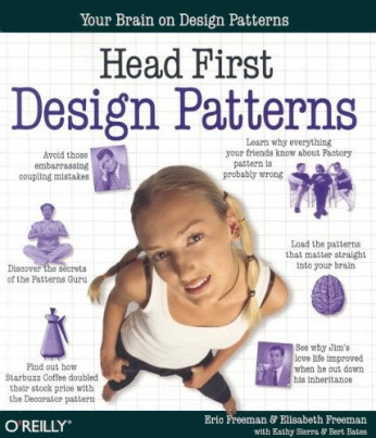 Head First Design Patterns book cover