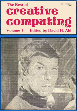 The Best of Creative Computing, Volume 1 cover