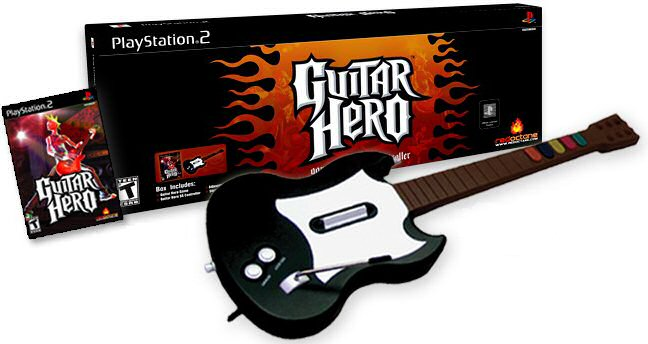 Guitar Hero game package