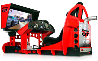 Le Virtual GT Simulator. If you have to ask, you can't afford it.