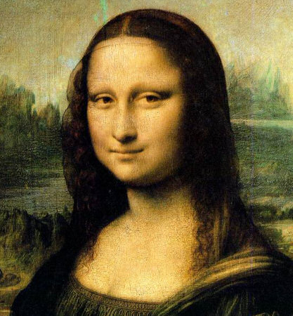 Mona Lisa as JPEG