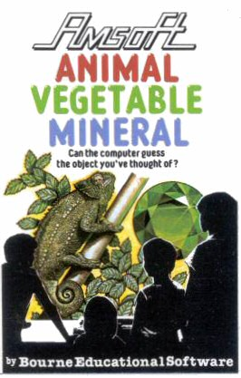 Animal Vegetable Mineral Timex Sinclair game