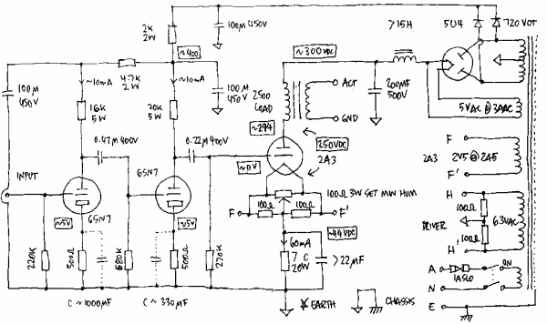 Pleasing Hand Drawn Circuit Diagram Basic Electronics Wiring Diagram Wiring 101 Akebretraxxcnl
