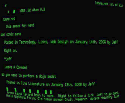 GLTerminal screenshot