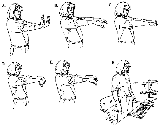 Some carpal tunnel prevention stretches