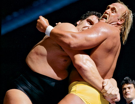 Wrestlemania III  –  Hulk Hogan vs. Andre the Giant