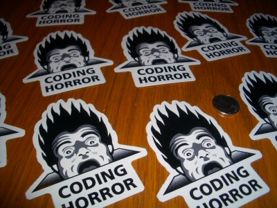 Coding Horror stickers