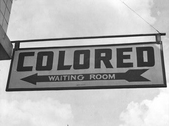 colored only sign