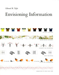 The cover of Edward Tufte's book, Envisioning Information