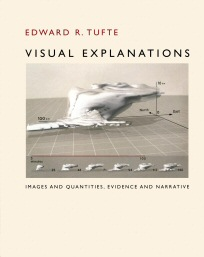 The cover of Edward Tufte's book, Visual Explanations