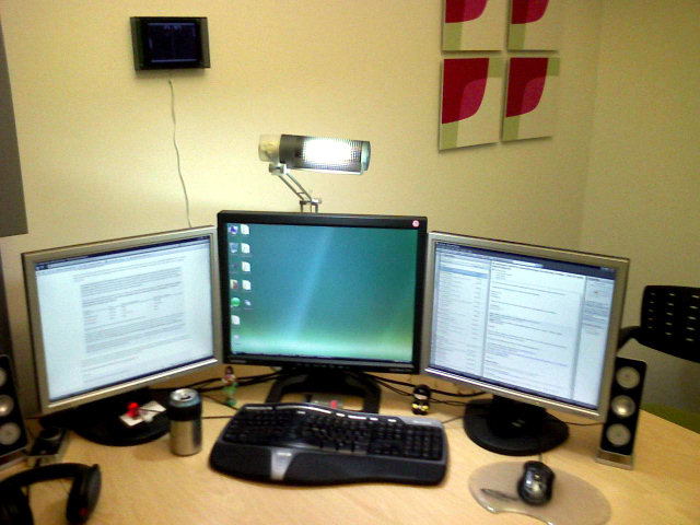 Office, computer setup