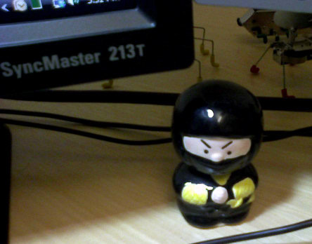 Office, bobblehead ninja