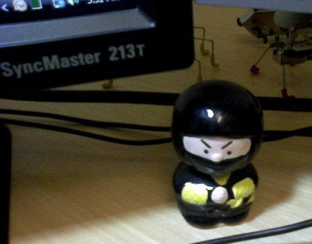 Office, bobblehead ninja