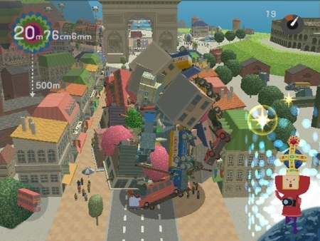 Screenshot of 'We Love Katamari'