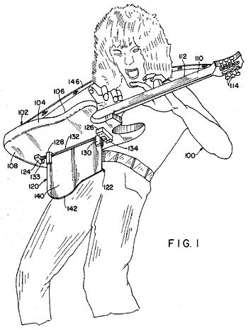 Eddie Van Halen's Patent