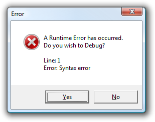 Javascript debugging error dialog in IE7