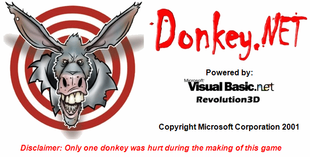 Donkey.NET splash screen