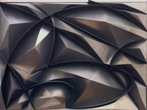 Giacomo Balla, Plastic Construction of Noise and Speed, 1915