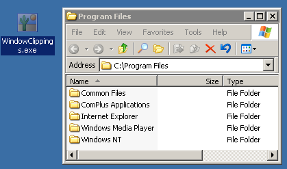 Manual program installation screenshot