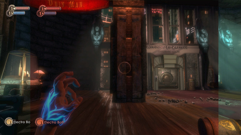 Bioshock FOV comparison, 4:3 vs 16:10
