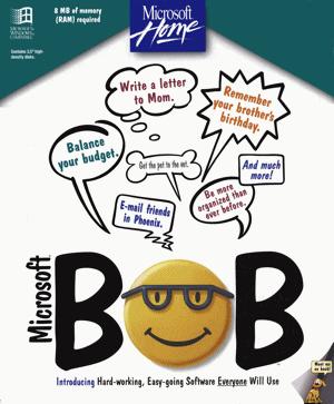 Microsoft Bob, front