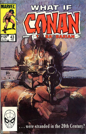 What If #43: What if Conan The Barbarian was stranded in the 20th century?