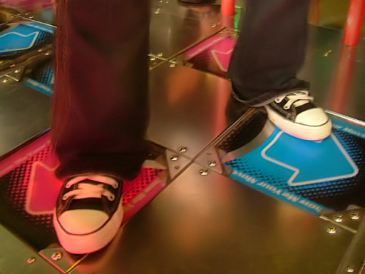 Dance Dance Revolution feet