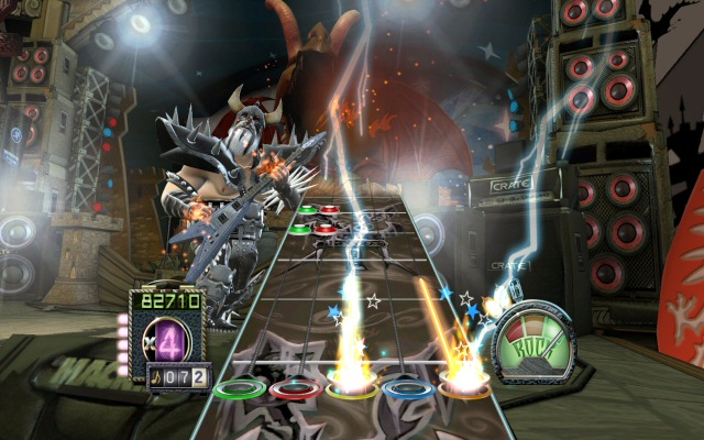 Guitar Hero III for the PC, screenshot