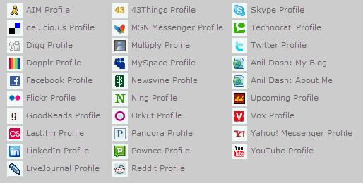 Anil Dash's many online identities