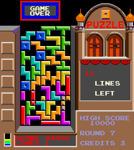 Tetris: Game Over