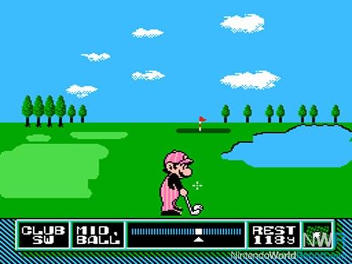 NES mario golf