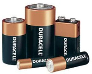 battery set: C, D, 9 volt, AAA and AA
