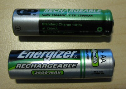 AA battery comparison: 1998 vs 2008