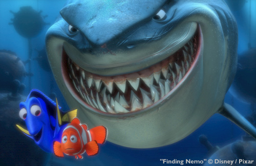 renderman example: scene from Finding Nemo